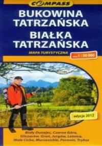 Bukowina Tatrzańska, Białka Tatrzańska. Mapa turystyczna Compass 1:30 000