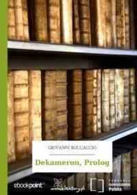 Dekameron, Prolog - Giovanni Boccaccio