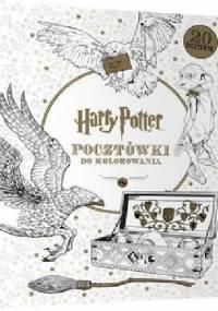 Harry Potter, pocztówki do kolorowania - praca zbiorowa