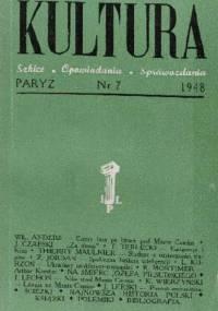 Kultura, nr 7 / 1948 - Redakcja pisma Kultura