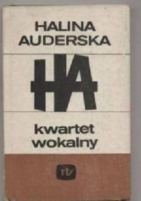 Kwartet wokalny - Halina Auderska