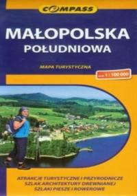 Małopolska Południowa. Mapa turystyczna Compass 1:100 000 - Roman Trzmielewski