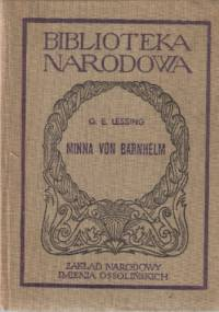 Minna von Barnhelm czyli Żołnierska dola - Gotthold Ephraim Lessing