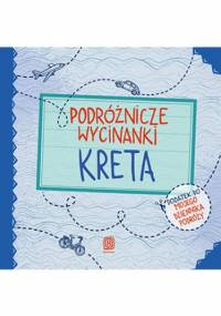 Podróżnicze wycinanki. Kreta. Wydanie 1 - Agnieszka Krawczyk, Jamróz Ania
