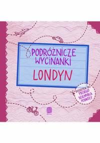 Podróżnicze wycinanki. Londyn. Wydanie 1 - Agnieszka Krawczyk, Jamróz Ania