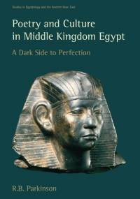 Poetry and Culture in Middle Kingdom Egypt. A Dark Side to Perfection - Richard Bruce Parkinson