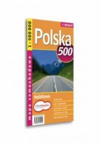 Polska. Mapa samochodowa Demart / 1:500 000