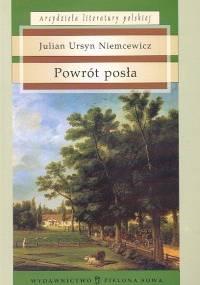Powrót posła - Julian Ursyn Niemcewicz