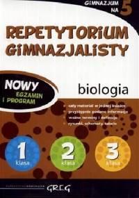 Repetytorium gimnazjalisty. Biologia - opracowanie zbiorowe