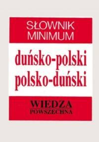Słownik minimum duńsko-polski, polsko-duński - Elżbieta Frank-Oborzyńska