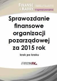 Sprawozdanie finansowe organizacji pozarządowej za 2015 rok - Katarzyna Trzpioła