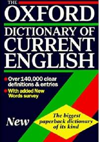 The Oxford dictionary of current English - Della Thompson