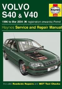 Volvo S40 & V40 Petrol (96 - Mar 04) Haynes Repair Manual - Haynes
