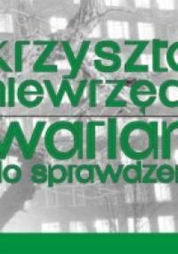 Wariant do sprawdzenia - Krzysztof Niewrzęda