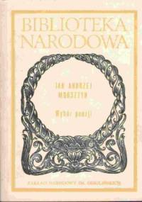 Wybór poezji - Jan Andrzej Morsztyn