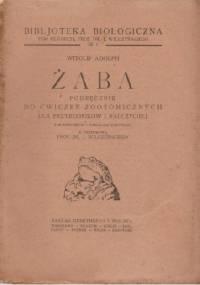Żaba. Podręcznik do ćwiczeń zootomicznych dla przyrodników i nauczycieli - Witold Adolph
